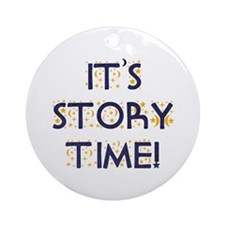 Story Time-Night Sky Ornament (Round)