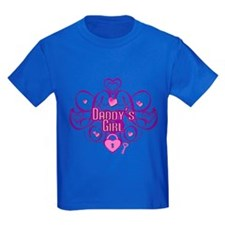 Purple / Pink - Daddys Girl T