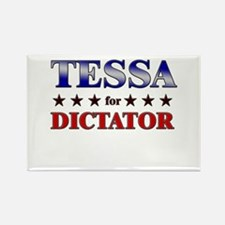 TESSA for dictator Rectangle Magnet