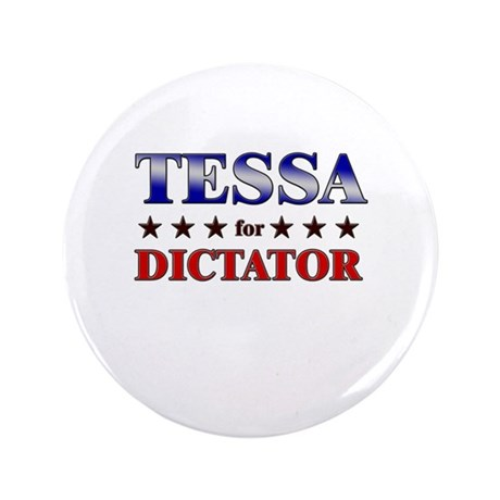 "TESSA for dictator 3.5"" Button"