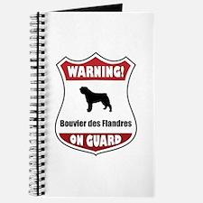Bouvier On Guard Journal