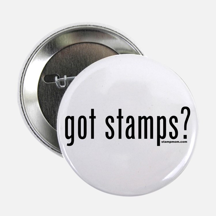 "Got Stamps? 2.25"" Button (10 pack)"
