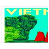Travel vietnam Wrapped Canvas Art
