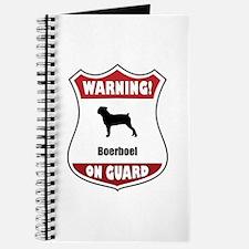 Boerboel On Guard Journal