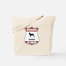 Boerboel On Guard Tote Bag