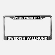 Swedish Vallhund License Plate Frame