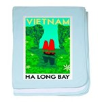Ha Long Bay - Vietnam Print baby blanket