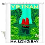 Ha Long Bay - Vietnam Print Shower Curtain