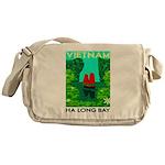 Ha Long Bay - Vietnam Print Messenger Bag