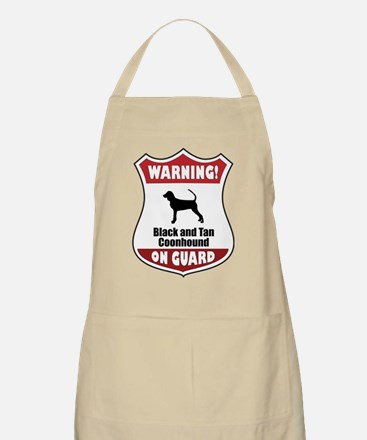 Black and Tan On Guard BBQ Apron