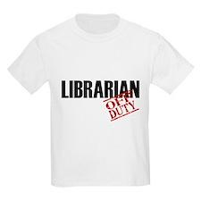 Off Duty Librarian T-Shirt