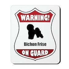 Bichon On Guard Mousepad