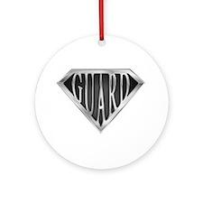 SuperGuard(metal) Ornament (Round)