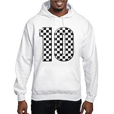 race car number 10 Hoodie