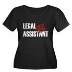 Off Duty Legal Assistant Women's Plus Size Scoop N