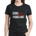 Off Duty Legal Assistant Women's Dark T-Shirt