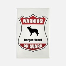 Berger On Guard Rectangle Magnet (100 pack)