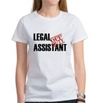 Off Duty Legal Assistant Women's T-Shirt