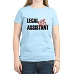 Off Duty Legal Assistant Women's Light T-Shirt