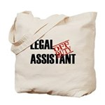 Off Duty Legal Assistant Tote Bag