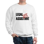 Off Duty Legal Assistant Sweatshirt