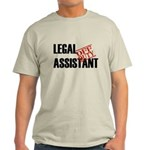 Off Duty Legal Assistant Light T-Shirt