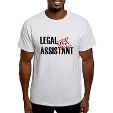 Off Duty Legal Assistant T-Shirt