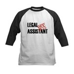 Off Duty Legal Assistant Kids Baseball Jersey