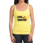 Off Duty Legal Assistant Jr. Spaghetti Tank