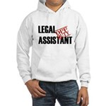 Off Duty Legal Assistant Hooded Sweatshirt