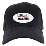 Off Duty Legal Assistant Black Cap
