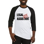 Off Duty Legal Assistant Baseball Jersey