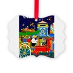 Saigon Travel and Tourism Print Picture Ornament