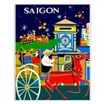 Saigon Travel and Tourism Print Small Poster