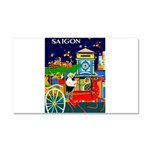Saigon Travel and Tourism Print Car Magnet 20 x 12