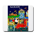 Saigon Travel and Tourism Print Mousepad