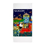 Saigon Travel and Tourism Print Beach Towel