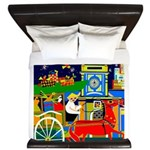 Saigon Travel and Tourism Print King Duvet