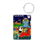 Saigon Travel and Tourism Print Keychains