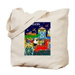 Saigon Travel and Tourism Print Tote Bag