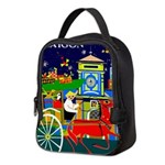 Saigon Travel and Tourism Print Neoprene Lunch Bag