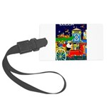 Saigon Travel and Tourism Print Large Luggage Tag