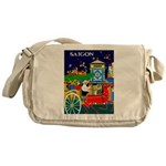 Saigon Travel and Tourism Print Messenger Bag