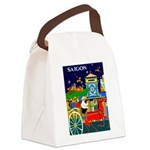 Saigon Travel and Tourism Print Canvas Lunch Bag
