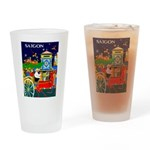 Saigon Travel and Tourism Print Drinking Glass
