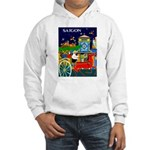 Saigon Travel and Tourism Print Hoodie Sweatshirt