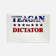 TEAGAN for dictator Rectangle Magnet