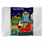 Saigon Travel And Tourism Print Pillow Sham