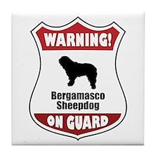 Bergamasco On Guard Tile Coaster