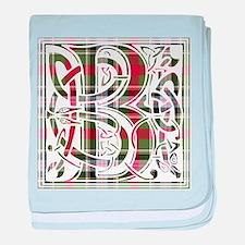 Monogram - Bruce of Kinnaird baby blanket